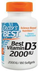 Doctor's Best Best Vitamin D3 - 180db