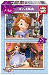 Educa Disney Szófia hercegnő 2x20 db-os (15926)
