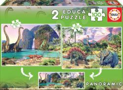 Educa Dínó világ 2 x 100 db-os (15620)