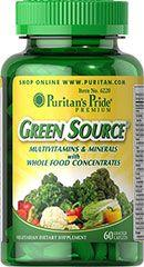 Puritan's Pride Green Source - 60db