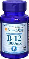Puritan's Pride B-12 1000mcg - 100db