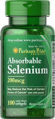 Puritan's Pride Selenium 200mcg szelén kapszula - 100 db