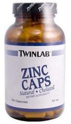 Twinlab Zinc Caps - 180db