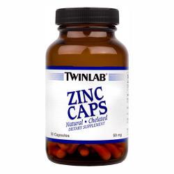 Twinlab Zinc Caps - 90db