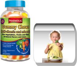 Pharmekal Gummy Chews Multivitamin - 60db