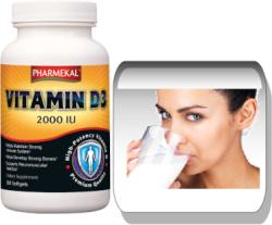 Pharmekal Vitamin-D3 2000IU - 100db