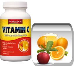 Pharmekal Vitamin-C csipkebogyóval - 350db
