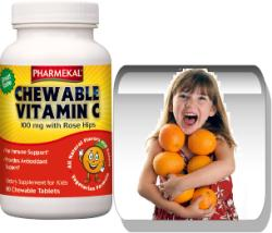 Pharmekal Chewable Vitamin C - 90db
