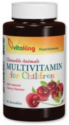 Vitaking Multivitamin gyerekeknek rágótabletta - 90db
