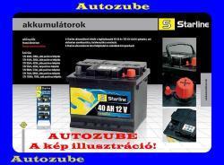 Starline 12V 72Ah 640A Jobb+