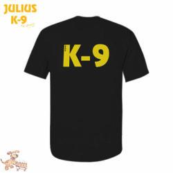 K9 póló, fekete / méret 4XL