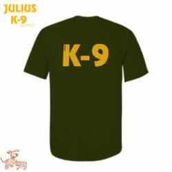 K9 póló, olajzöld / méret L