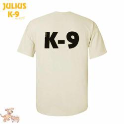 K9 póló, homokszínű / méret XL