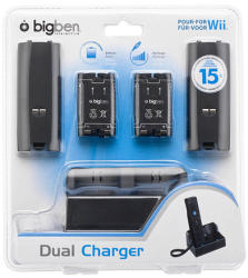 Bigben Interactive Wii Dual Charger
