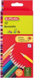 Herlitz Színes ceruza háromszögű 12db