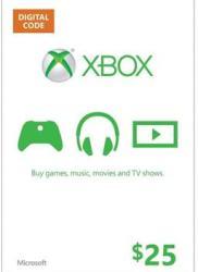 Microsoft Xbox Live Card 25 USD