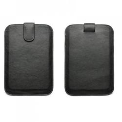"""Celly Leather Pouch 7"""" - Black (CELLY-SLIMTAB01)"""