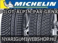 Michelin Pilot Alpin PA4 GRNX XL 285/35 R20 104V