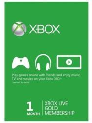Microsoft Xbox Live Gold 1 Month Membership