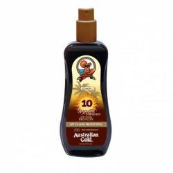 Australian Gold Napozáshoz+bronzer Spray SPF 10 - 237ml