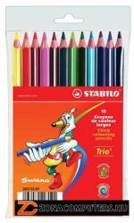STABILO Trio Színes ceruza vastag 12db (TST20312)