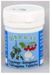 BIONIT Fokhagyma-galagonya-fagyöngy tabletta - 70 db