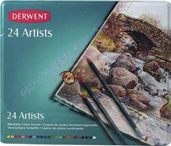 Derwent Művész színes ceruza fém tokban 24db