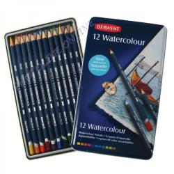 Derwent Akvarell ceruza fém tokban 12db