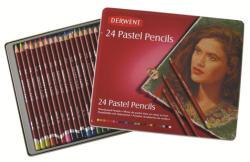 Derwent Pasztell ceruza fém tokban 24db