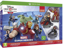 Disney Infinity 2.0 Marvel Super Heroes Starter Pack (Xbox One)