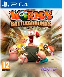 Team 17 Worms Battlegrounds (PS4)