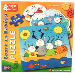 Keller&Mayer Bébi Puzzle Bogyó és Babóca 2-4-6 db-os (713212)