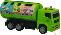 Dickie Toys City Team munkagépek - Szelektív hulladékgyűjtő autó