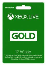 Microsoft Xbox Live Gold 12 Months membership
