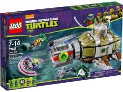 LEGO Tini Nindzsa Teknőcök - A Teknőc Búvárhajós Üldözés (79121)
