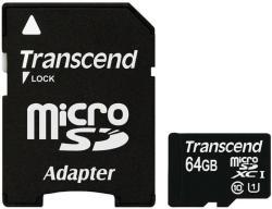 Transcend MicroSDXC 64GB Class 10 TS64GUSDU1