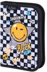 Herlitz Smiley Rock 19 részes töltött tolltartó