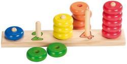 Goki Színszortírozó játék számokkal