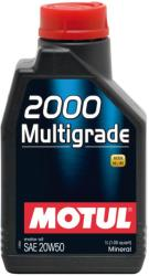 Motul 2000 Multigrade 20W-50 1 L