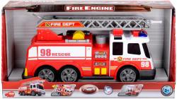 Dickie Toys Tűzoltóautó fénnyel hanggal és locsolótömlővel (3308358)