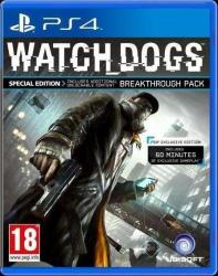 Ubisoft Watch Dogs [Day One Edition] (PS4)