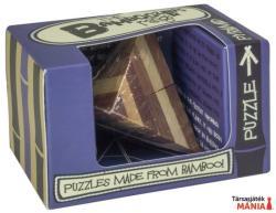 Professor Puzzle Pyramid Mini - bambusz ördöglakat