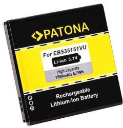 Utángyártott Samsung Li-ion 1550 mAh EB535151VU