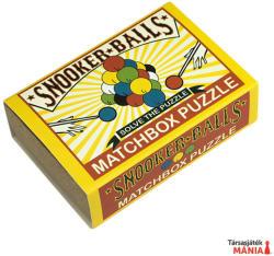 Professor Puzzle Snooker Balls Matchbox - ördöglakat