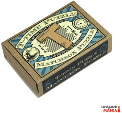 Professor Puzzle T-Time Puzzle Matchbox - ördöglakat