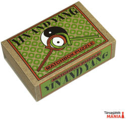 Professor Puzzle Yin and Yang Matchbox - ördöglakat