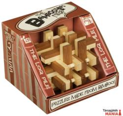 Professor Puzzle The Log Pile - bambusz ördöglakat