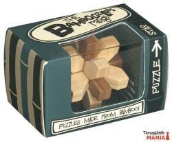 Professor Puzzle Star Mini - bambusz ördöglakat