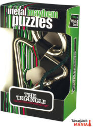 Professor Puzzle The Triangle - fém ördöglakat