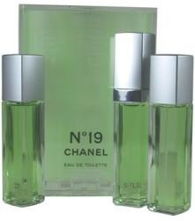 CHANEL No.19 (Refills) EDT 3x15ml